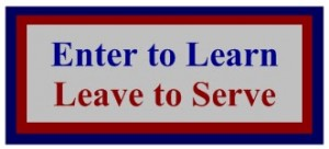 Enter To Learn Leave To Serve
