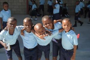 Haiti boys