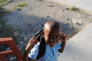 Haiti school boy