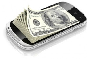 money and cell phone