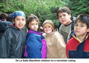 0309DeLaSalleBlackfeetchildrenonmountain