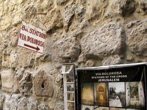 Station 8 Via Dolorosa