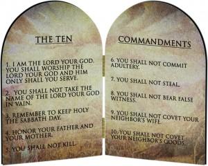 10 commandmens