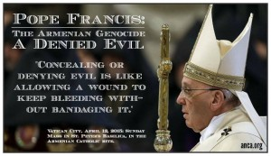 PopeFrancis_ArmenianGenocide