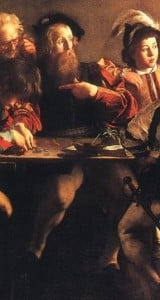 caravaggio-the-calling-of-saint-matthew-legs-detail