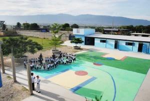 schoolyard haiti