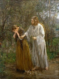Mary in Garden