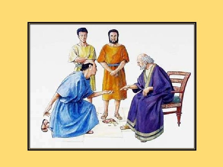 parable of the three servants